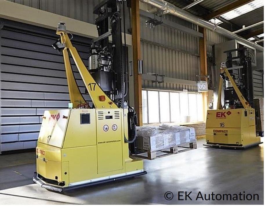 Fahrerloses Transportsystem FTS EK Automation COMPACT MOVE