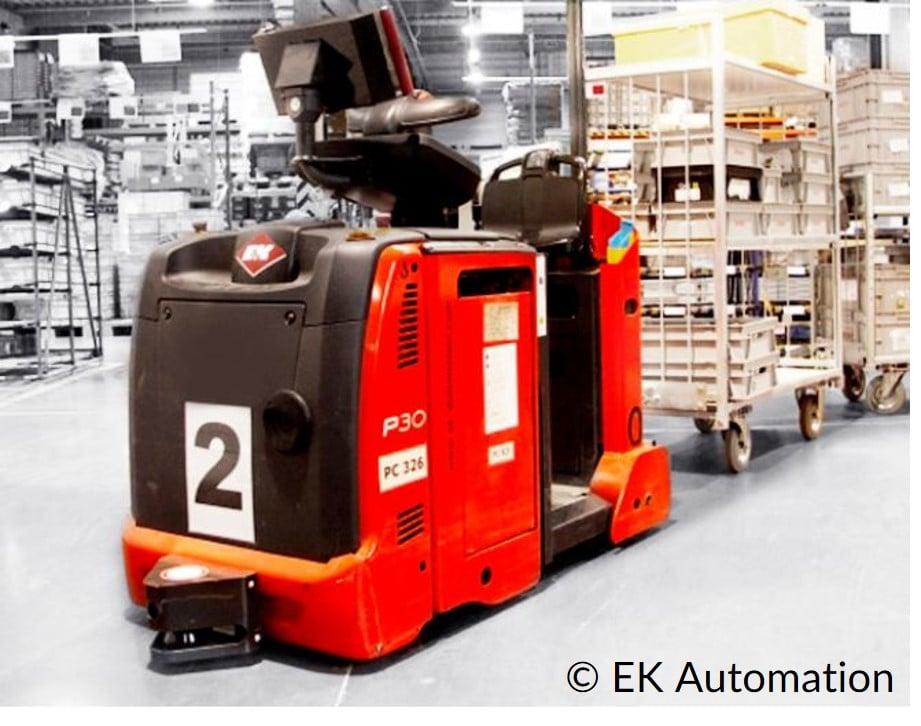 Fahrerloses Transportsystem FTS EK Automation SMART MOVE